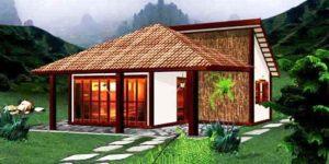 Casa Terrea de 69m2
