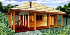 Casa Terrea de 96m2