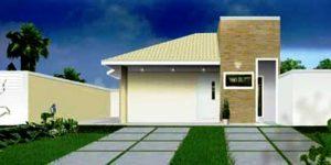 Casa Terrea de 110m2