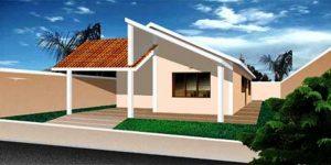 Casa Térrea de 157M² Modelo 1