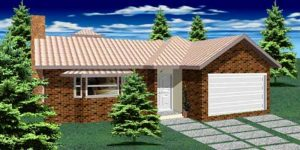 Casa Térrea de 184m² Modelo 2