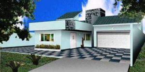 Casa Térrea de 268m²