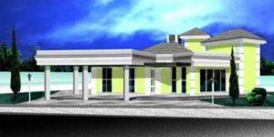 Casa Térrea de 282m²